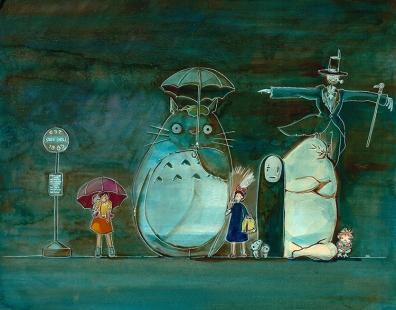 The Bus Stop to Studio Ghibli