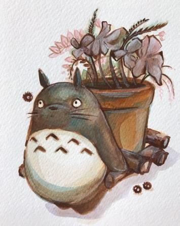 totoroflowerpot