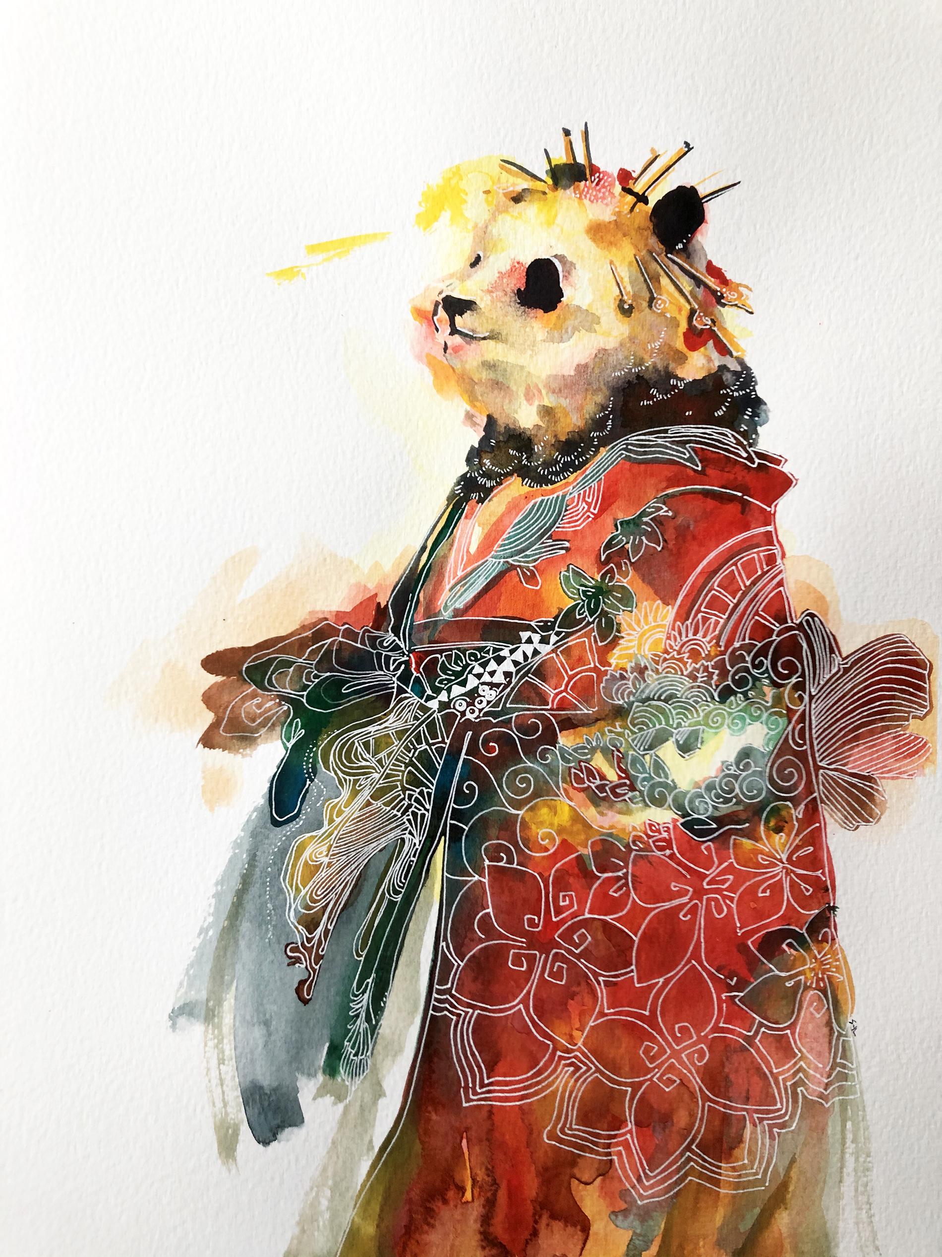 kimonopanda