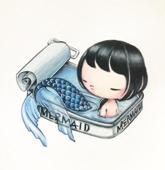 mermaidinacan